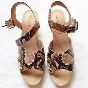 SOLD! Madewell strappy sandals